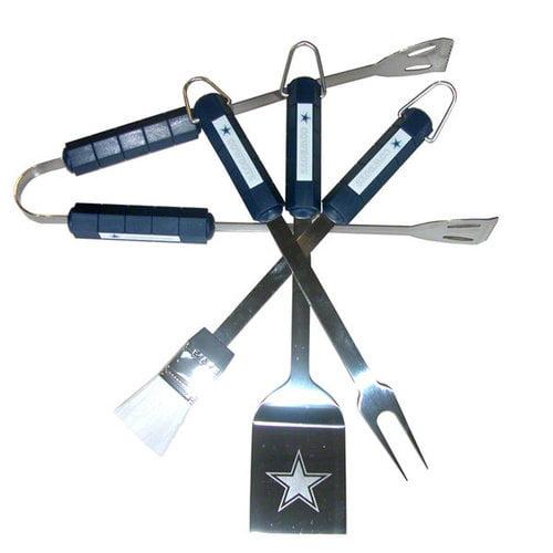 NFL - Dallas Cowboys 4 Piece BBQ Set