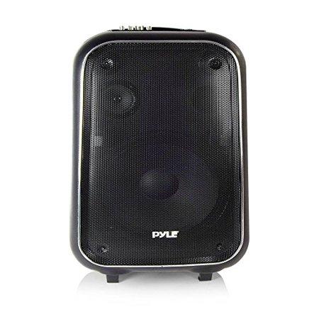 Pa System, Pyle Loudspeaker Portable Wireless Small Fm Radio Pa Karaoke