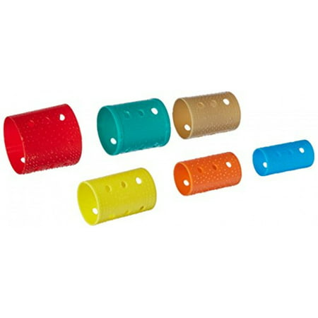 Soft 'N Style Sure Grip Roller Flat Pack, 144 Assorted (Sure Grip Rollers)