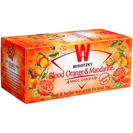Wissotzky Passover Blood Orange & Mandarin, 20 BG (Pack of 6)