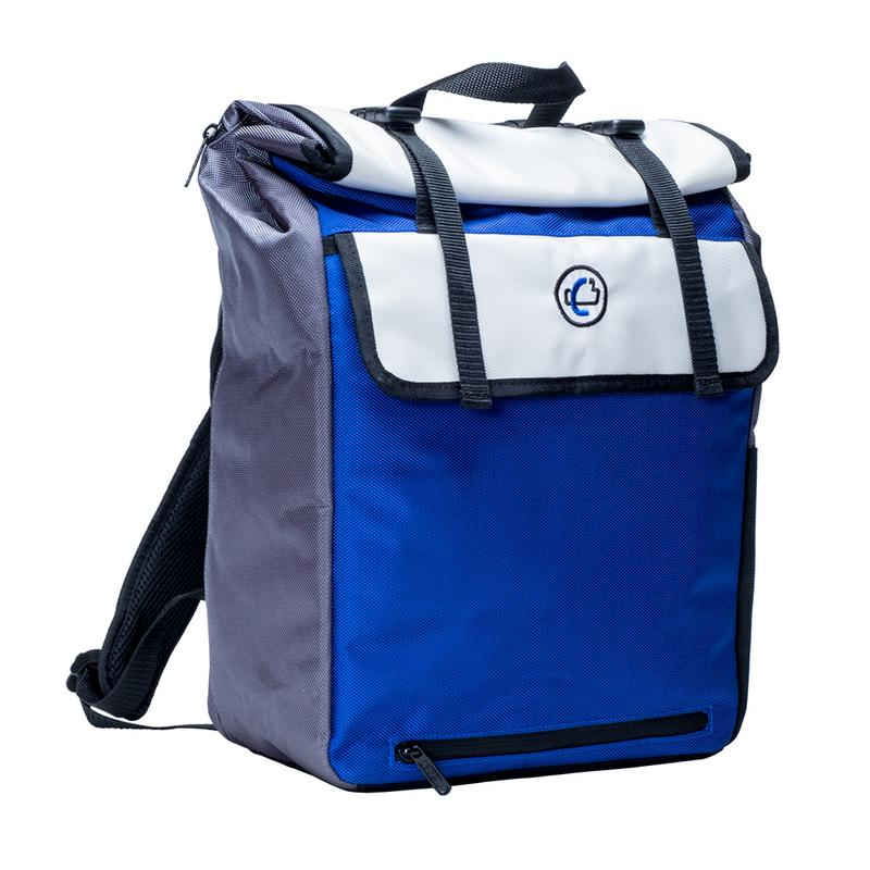 Case•it The Binder Pack 2.0 Binder Backpack, Blue