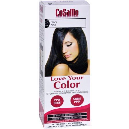 Cosamo Cosamo Love Your Color Non-Permanent Color, 1 (Best Non Permanent Hair Color For Gray)