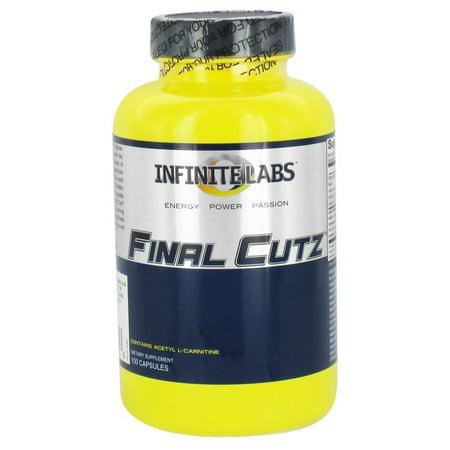 Infinite Labs   Final Cutz Fat Incinerator   100 Capsules