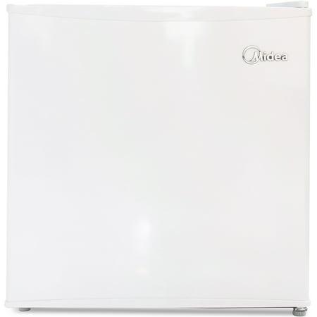 Midea 1.6 cu ft Refrigerator, White