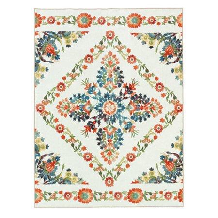 Mohawk Porcelain Tile - Mohawk Aurora Bishop Tile Indoor Area Rug