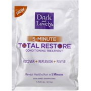 Dark and Lovely 5-Minute Total Restore Conditioning Treatment 1.75 oz (Pack of 2)