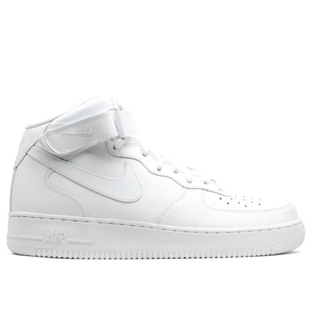 sports shoes 6bc5f 7024c Nike Men's Air Force 1 07 Mid White / Ankle-High Leather ...