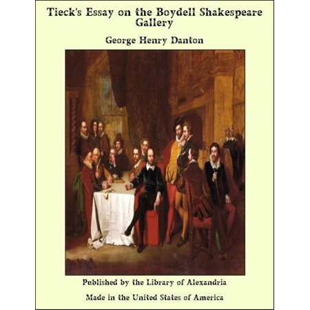 Tieck's Essay on the Boydell Shakespeare Gallery -
