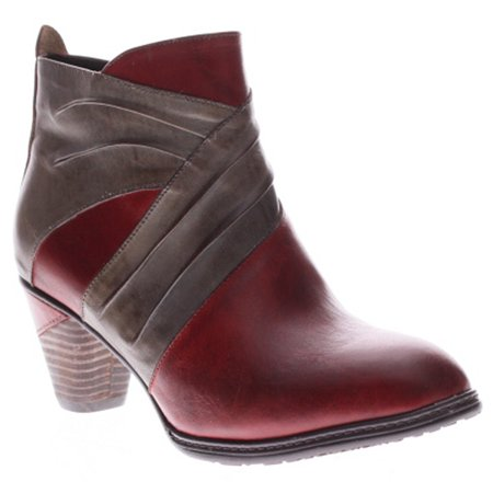 Spring Step Womens Red Boots Jazlyn