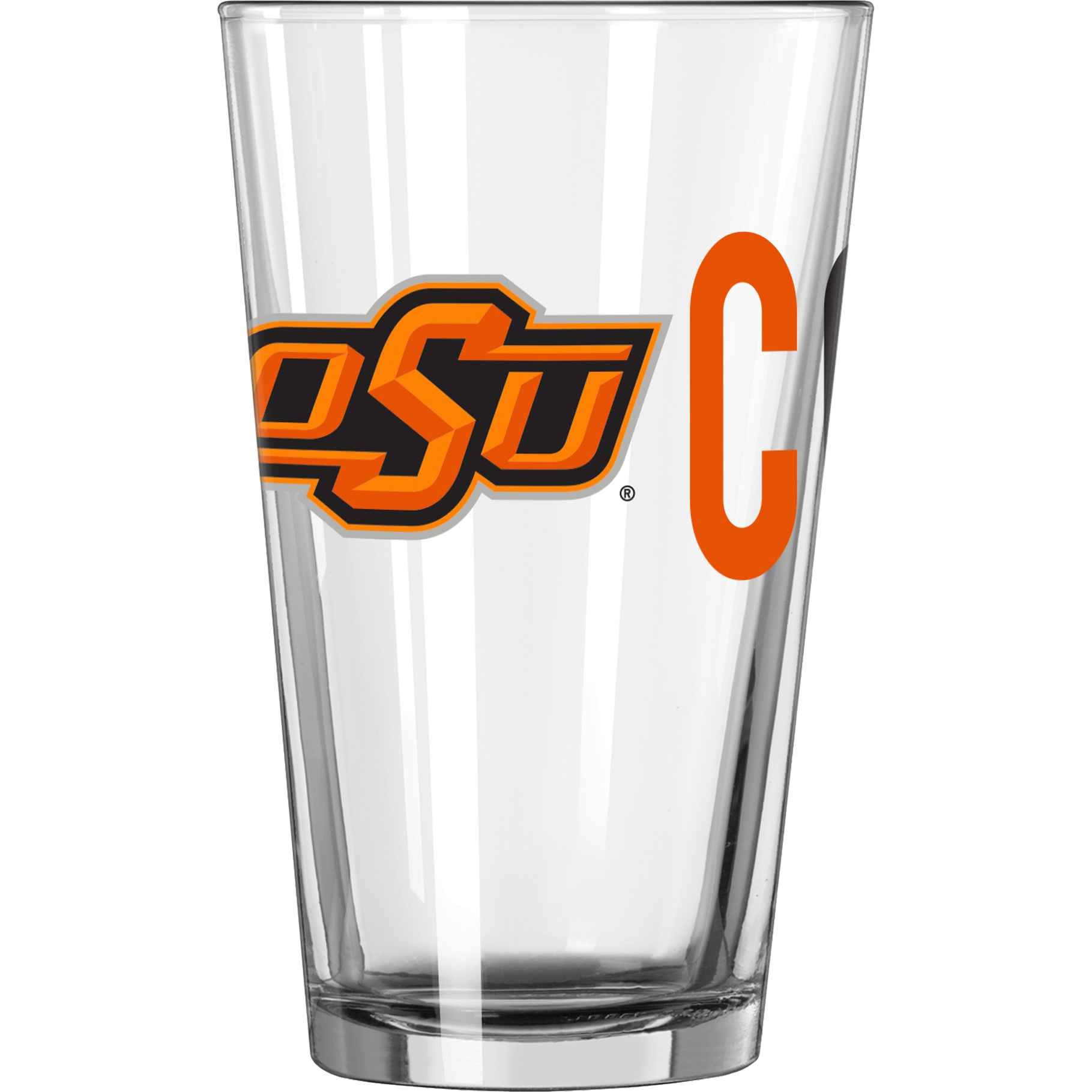 Oklahoma State University 16 oz. Overtime Pint Glass