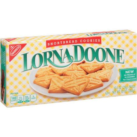 (2 Pack) Nabisco Lorna Doone Shortbread Cookies, 1 oz, 10