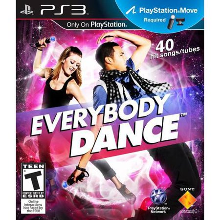Everybody Dance   Ps Move Only  Ps3