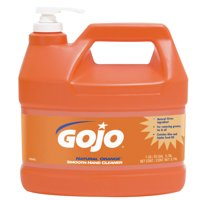 Gojo Natural Orange Smooth Hand Cleaners, Citrus, Bottle w/Pump, 1 gal