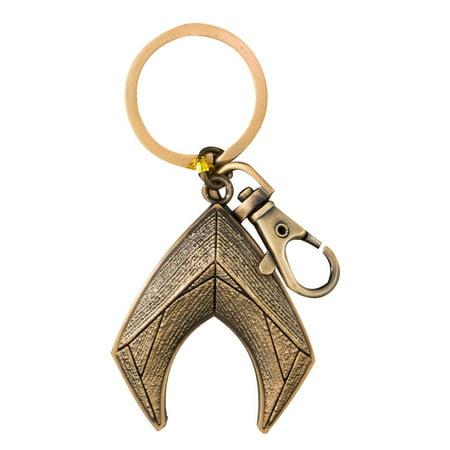 Aquaman Logo Keychain - Aquaman Accessories