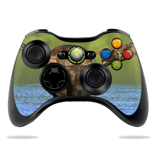 Skin Decal Wrap for Microsoft Xbox 360 Controller sticker Moose