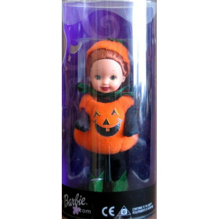 Barbie Kelly Halloween Party Chelsie As A Pumpkin Target Special Edition (2001) - Halloween Barbie Target