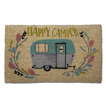 TAG Happy Camper Coir Doormat