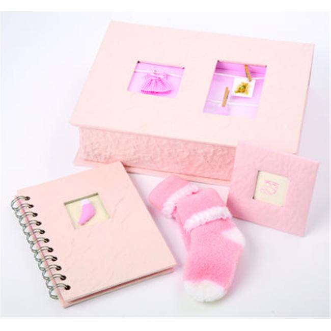 Ivy Lane Design 203GS Baby Gift Box Set in Pink