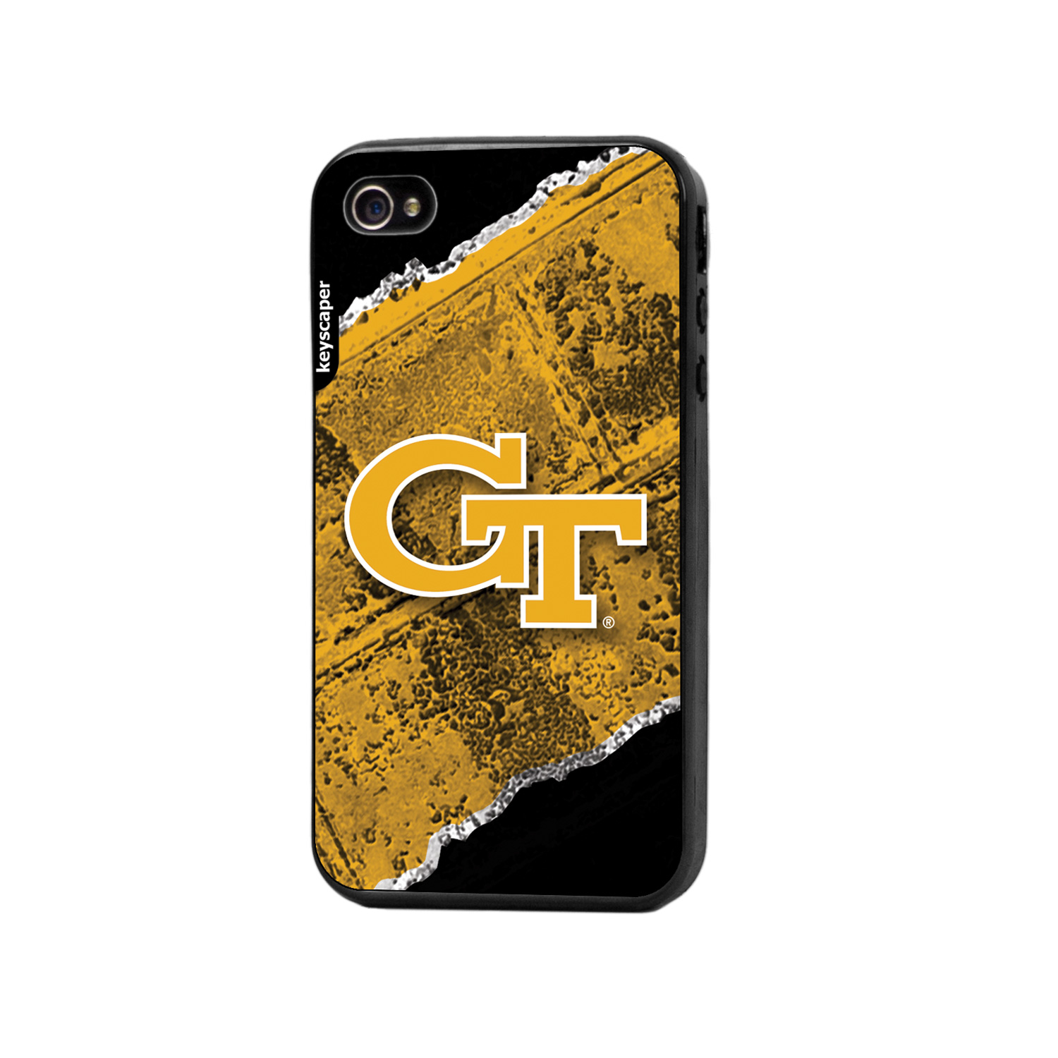 Georgia Tech iPhone 4 / iPhone 4s Bump Case NCAA