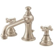 Belle Foret FW0CC200SN 8 in. Widespread 2-Handle High-Arc Bathroom Faucet in Satin Nickel