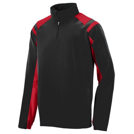 Augusta Sportswear Men's Doppler Pullover Xl Black/Red - image 1 de 1