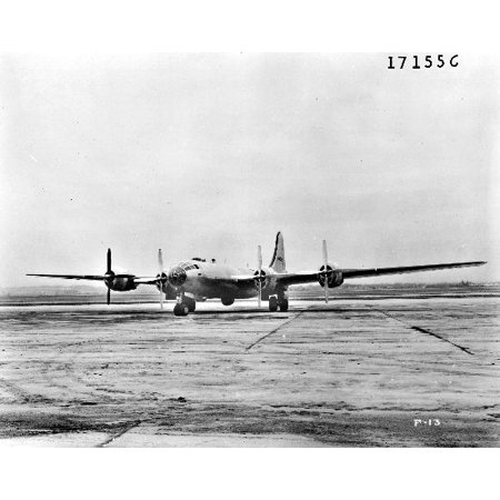 LAMINATED POSTER Boeing F-13 Superfortress, reconnaissance version of the B-29 bomber. Poster Print 24 x 36