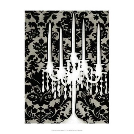 Small Patterned Candelabra I (P) Poster Print by Ethan Harper (13 x 19)