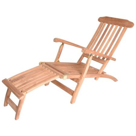 Marvelous Zenvida Teak Steamer Lounge Chair Theyellowbook Wood Chair Design Ideas Theyellowbookinfo