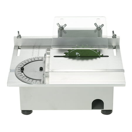 Enjoyable 100W Mini Table Saw Aluminum Miniature Diy Multi Function Woodworking Bench Saw 7000Rpm Pcb Cutter Carpentry Chainsaw Cutting Machine Model Saws Dc Uwap Interior Chair Design Uwaporg