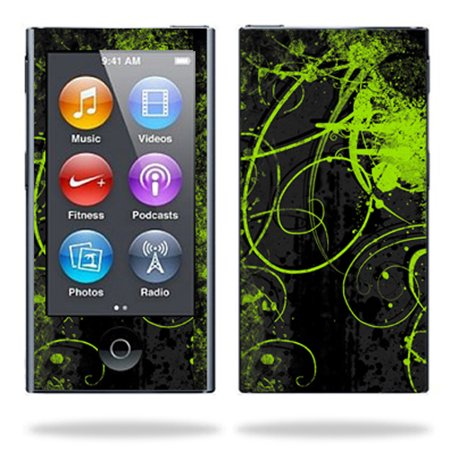 Skin Decal Wrap for Apple iPod Nano 7G 7th gen mp3 cover Aurora Borealis Mp3 Accessories Set