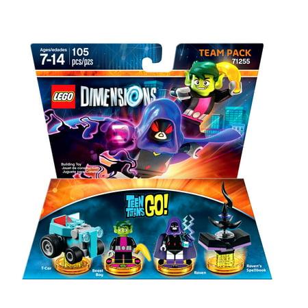 Lego Dimensions Teen Titans Go Team Pack (Universal) - Raven Teen Titans Go Legs