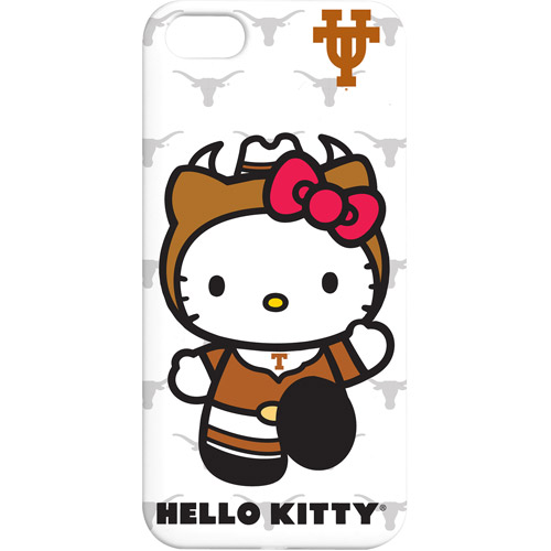 Tribeca Hardshell Case for iPhone 5/5SE/5s, Texas Longhorns/Hello Kitty