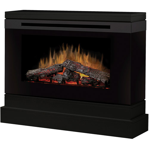 Dimplex Compact Electric Fireplace, Black