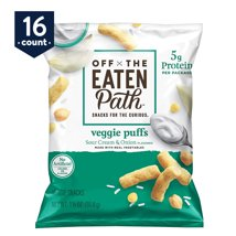 Veggie & Grain Chips: Off the Eaten Path Veggie Puffs