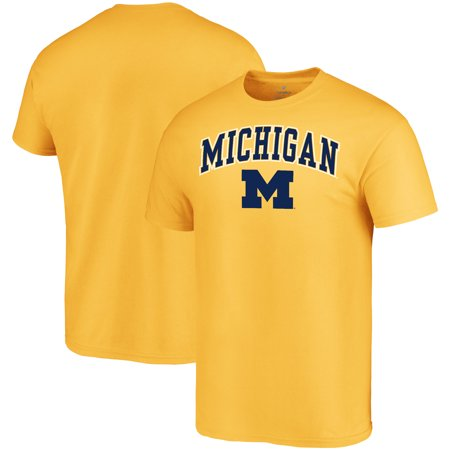 Michigan Wolverines Fanatics Branded Campus T-Shirt - Maize