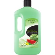 Sonoma Spa Cucumber & Fresh Melon Bubble Bath, 64 fl oz