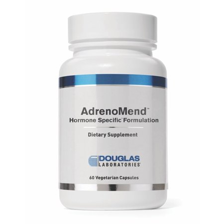 Douglas Laboratories- Adrenomend - Ten Herbal Adaptogens to Support Adrenal Gland Function During Stress* - 120 Capsules Standard Packaging Single ()