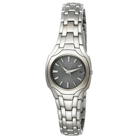 Citizen Eco Drive Stainless Steel Watch - Citizen Women's Eco-Drive Stainless Steel Watch EW1250-54A