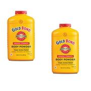 Gold Bond Body Powder Medicated - 10 oz -2 Pack