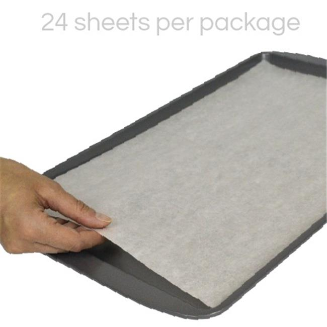 The Smart Baker Pre-Cut Parchment Sheets, 10 x 15 - Medium - Pack of 24