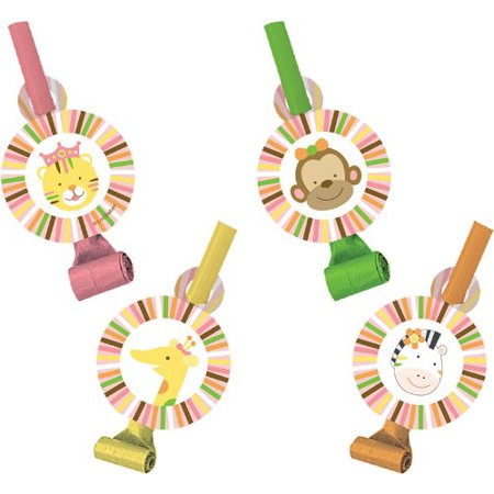 Creative Converting Sweet at One Girls Birthday Party Blowouts, 8 Count - image 1 of 1
