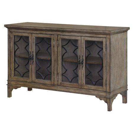 (Wyndham 4 Door Wood & Veneer Sideboard)