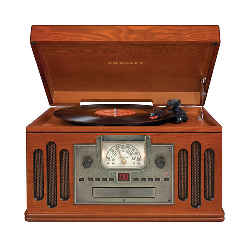 Crosley Musician 5-in-1 Entertainment Center, Paprika