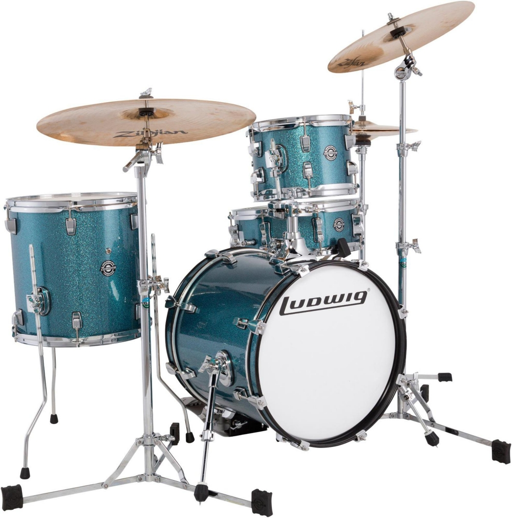 Breakbeats by Questlove 4-Piece Shell Pack by Ludwig