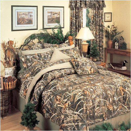 Bundle-52 Realtree Max-4 Bedding Collection (2 Pieces)