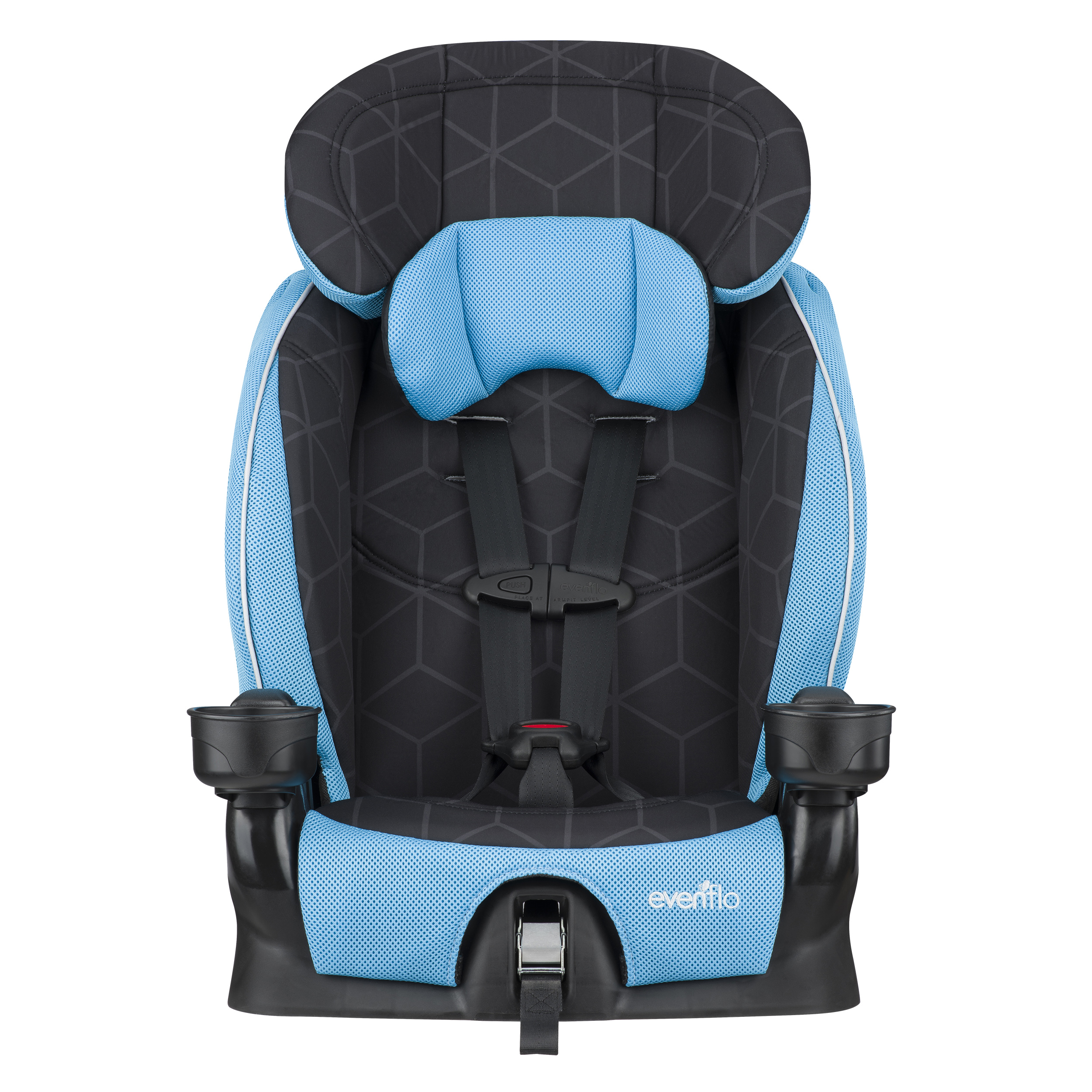 Evenflo Advanced Harness Booster Seat, Glacier Ice by Evenflo
