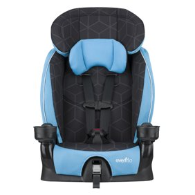 Evenflo Advanced Harness Booster Seat Glacier Ice
