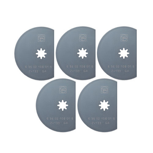Fein 63502106080 MultiMaster 3-1 8 in. High Speed Steel Segment Saw Blade (5-Pack) by
