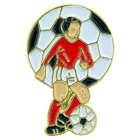Soccer Player Pin 1
