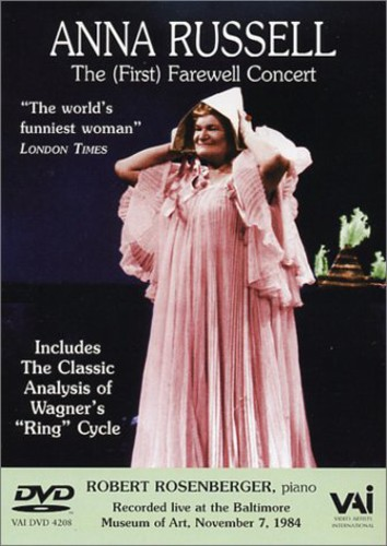 Anna Russell: (First) Farewell Concert (DVD) by VAI Distribution